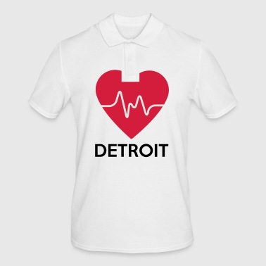 Heart Detroit - Men's Polo Shirt