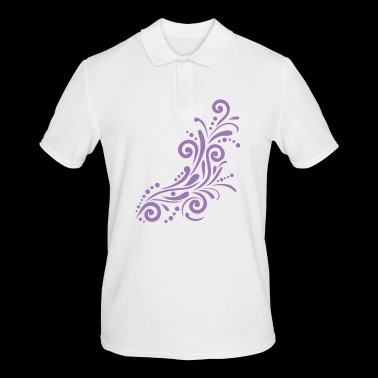Ornamental element - Herre poloshirt