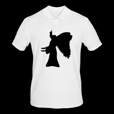 Angel silhouette ala regalo di Halo - Polo da uomo
