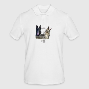 Shepherd dog, dog head, dog sport, dog - Men's Polo Shirt