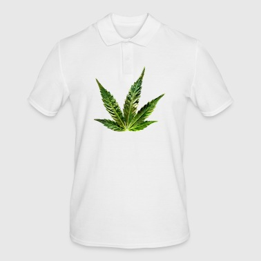 hemp leaf - Men's Polo Shirt