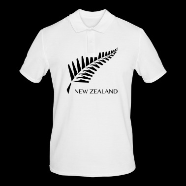 New Zealand fern - Men's Polo Shirt