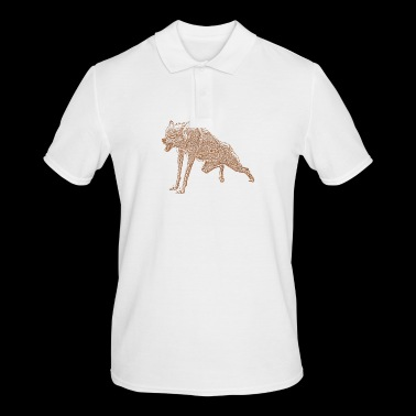 Aggressive Wolf - Men's Polo Shirt