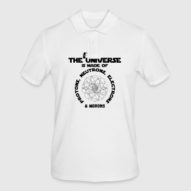 The universe is made of protons, neutrons, ... - Men's Polo Shirt