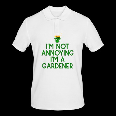 garden gardener garden flowers plants plants67 - Men's Polo Shirt