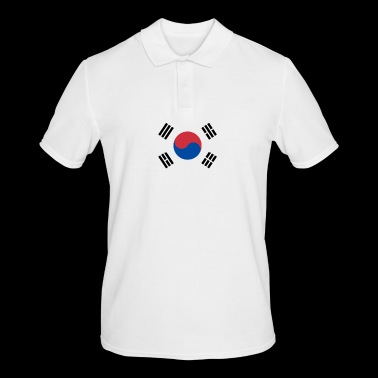 SOUTH SOUTH KOREA football fan - Men's Polo Shirt