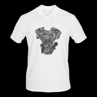 motor grunge - Men's Polo Shirt