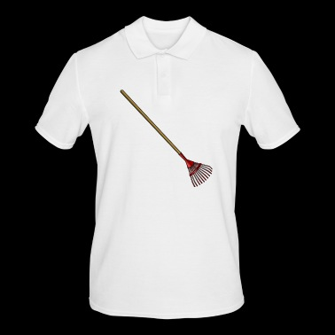 cleaning cleaning cleaning woman broom wischmop63 - Men's Polo Shirt