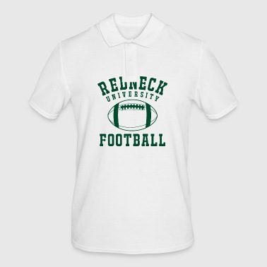 Shirt Redneck University Football - Men's Polo Shirt