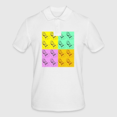 pop art - Men's Polo Shirt