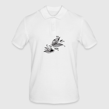 Leaves in the wind - Men's Polo Shirt