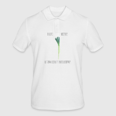 Allium muscles are also muscles - Men's Polo Shirt
