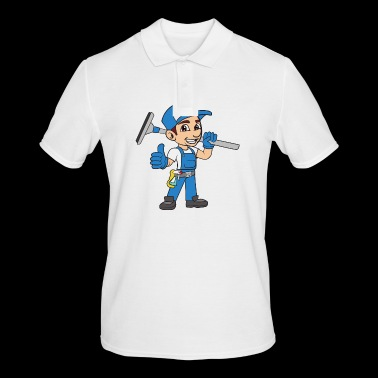 Building cleaner Window cleaner - Men's Polo Shirt