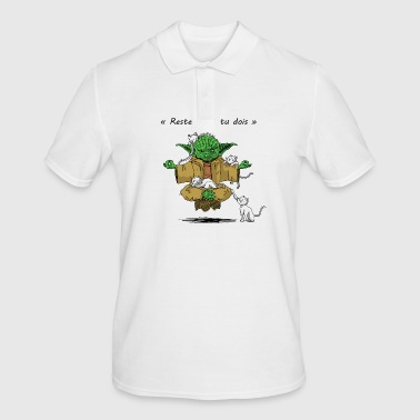 Yoda Yoga - Men's Polo Shirt