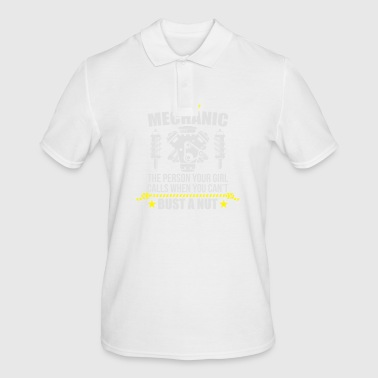 Funny Mechanic - funny mechanic - Men's Polo Shirt