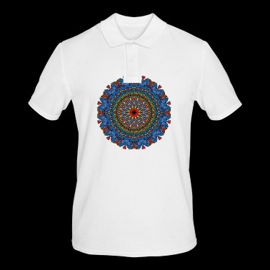 CIRCULAR PATTERN - Men's Polo Shirt