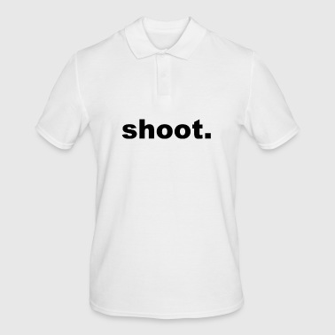 shoot. - Men's Polo Shirt
