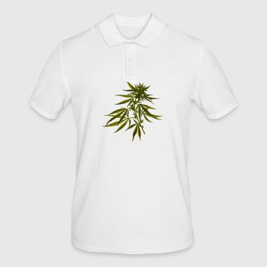 hemp plant - Men's Polo Shirt