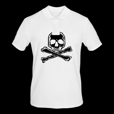 Skull Skull Tattoo Bones Skull Bone Style - Men's Polo Shirt