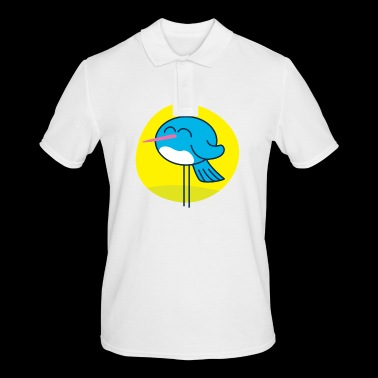 The blue Bird - Men's Polo Shirt