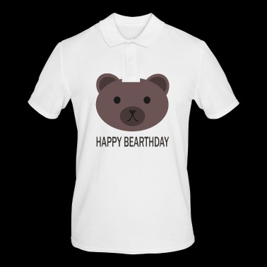 Happy Birthday - Männer Poloshirt