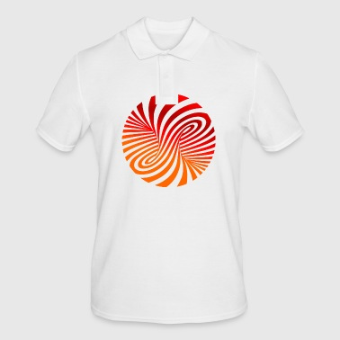 circular spiral - Men's Polo Shirt