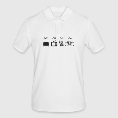 OFF OFF OFF ON - Men's Polo Shirt