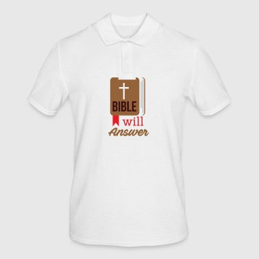 Bible will Answer - Men's Polo Shirt