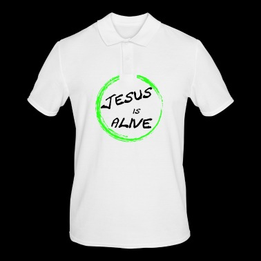 Jesus is alive - Men's Polo Shirt