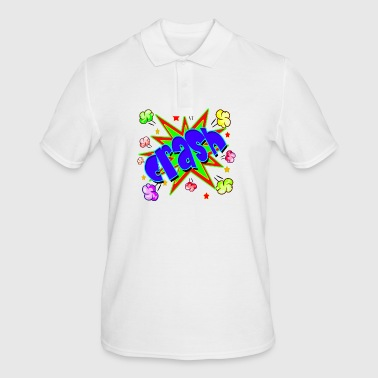 Vector Comic book Crash - Men's Polo Shirt