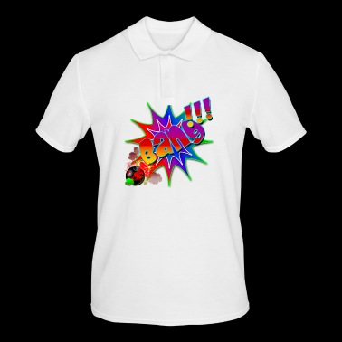 Comic Book Explosion Bang - Men's Polo Shirt
