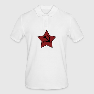 HAMMER AND SICKLE - Men's Polo Shirt