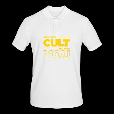 MAY THE CULT BE WITH YOU - Men's Polo Shirt