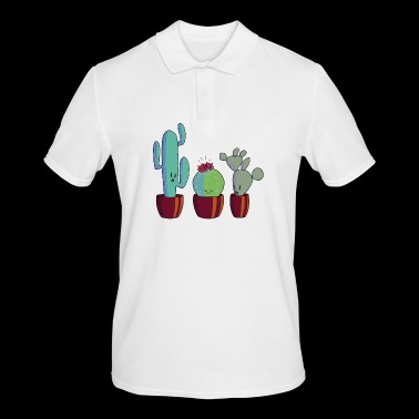 Cactus in bloom - Men's Polo Shirt