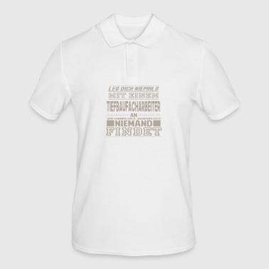 CIVIL ENGINEERING PROFESSIONAL WORKER - Men's Polo Shirt