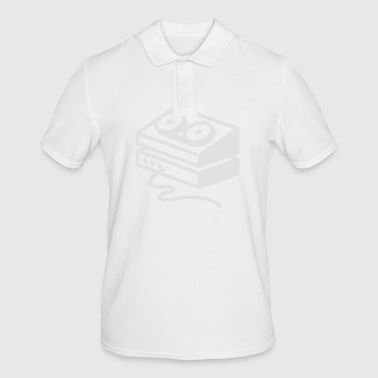 Old-fashioned Tape Recorder - Men's Polo Shirt