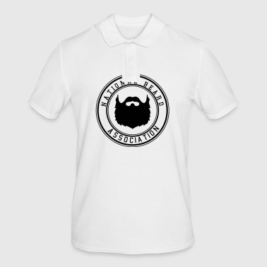 National Beard Association - Mannen poloshirt