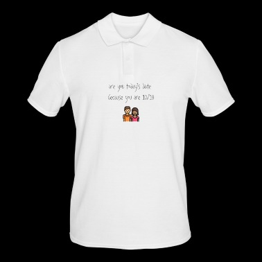 Today's date - Men's Polo Shirt