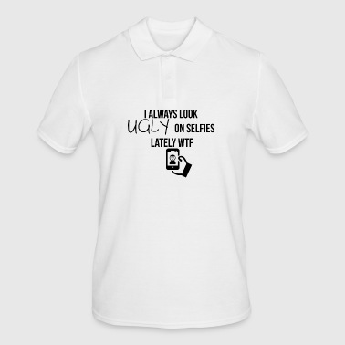 Look ugly on selfies - Men's Polo Shirt
