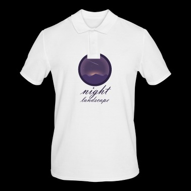 Paysage nocturne - Polo Homme