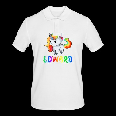 Edward unicorn - Men's Polo Shirt