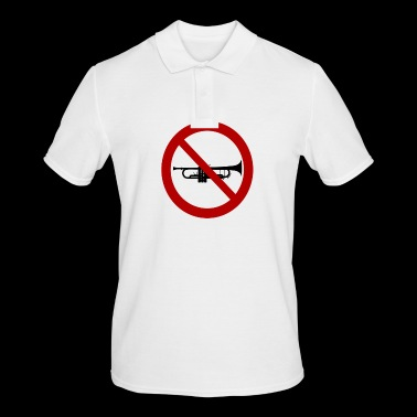 Trumpet prohibited! - Men's Polo Shirt
