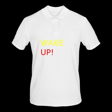 WAKE UP ! - Polo Homme