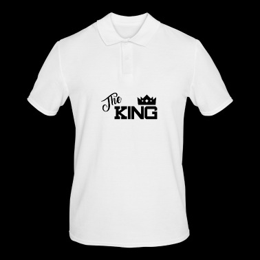King - Schwarz - Men's Polo Shirt