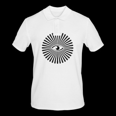 all seeing eye design - Men's Polo Shirt
