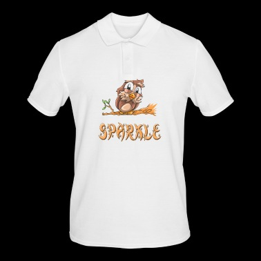 Owl sparkle - Men's Polo Shirt