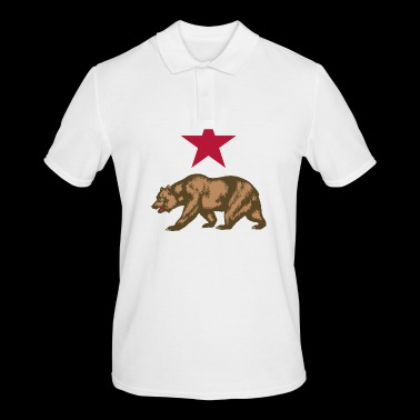 california - Men's Polo Shirt