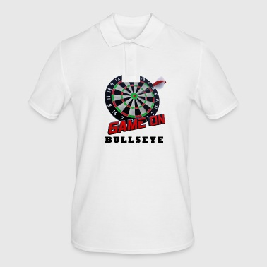 Darts Bullseye Game on - Men's Polo Shirt