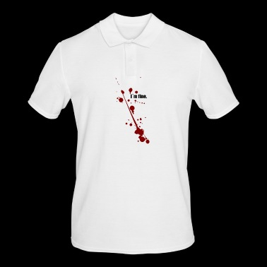 I am fine - I'm fine - Men's Polo Shirt
