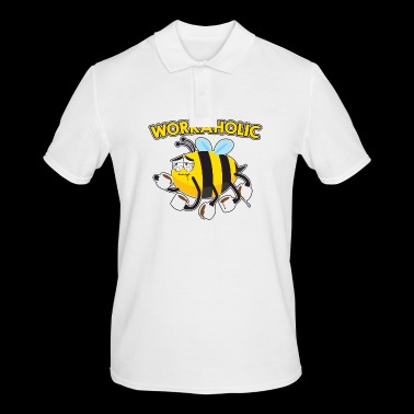 WORKAHOLIC Bee - Men's Polo Shirt